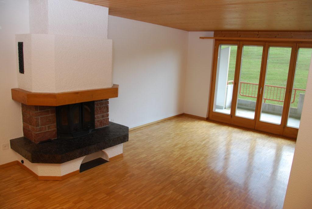 2.5 Zimmerwohnung im Dachgeschoss mit Cheminee [U31]