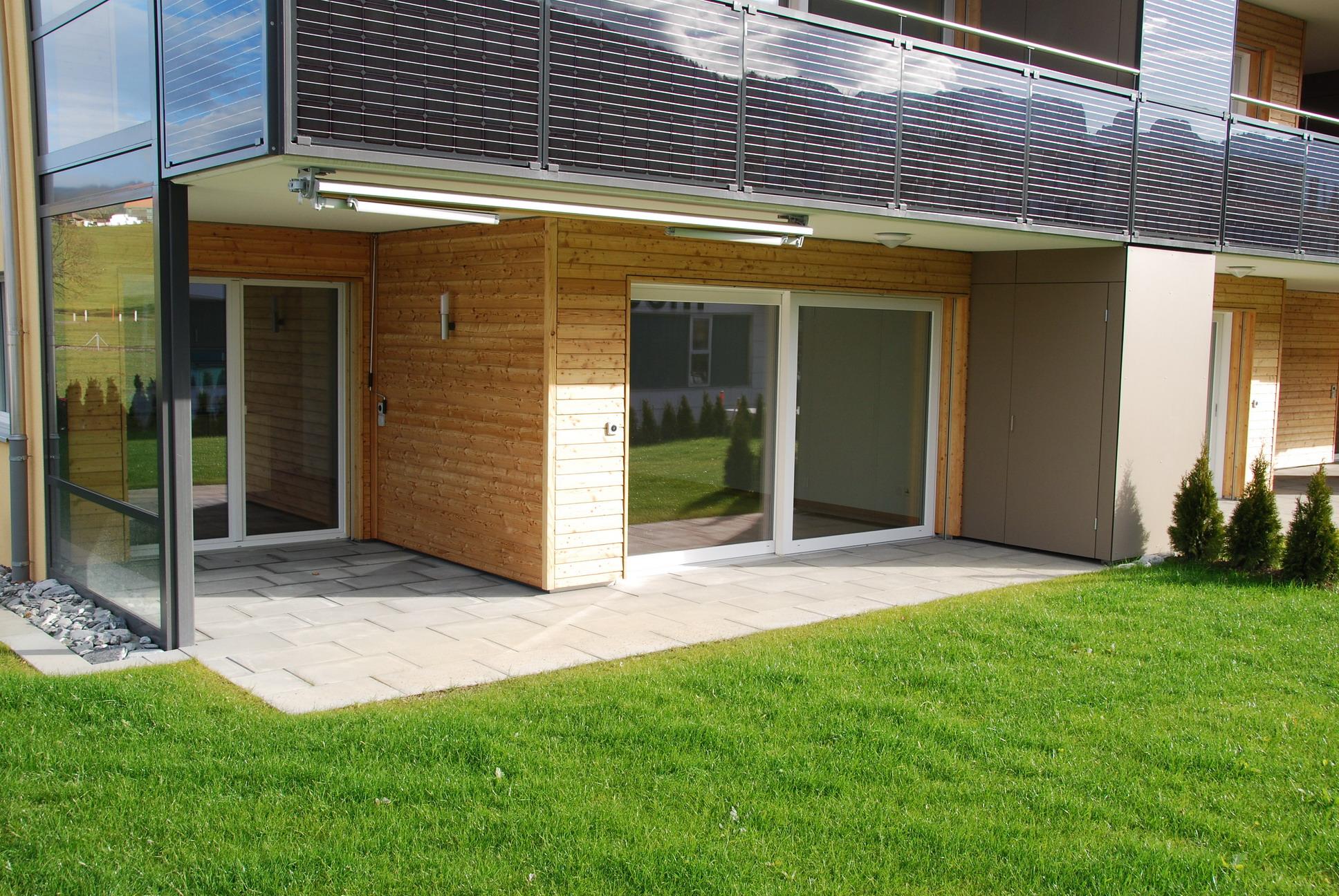 3.5 Zimmerwohnung im MINERGIE Standard mit Gartensitzplatz [EG01]