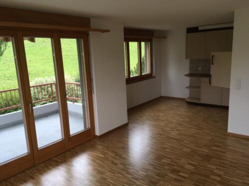 Wohnzimmer/Küche (Bild von Whg oberhalb im 1.OG)